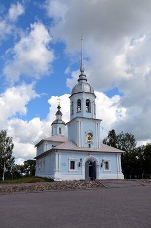 nevsky: Alexander Nevsky Church in Vologda Stock Photo