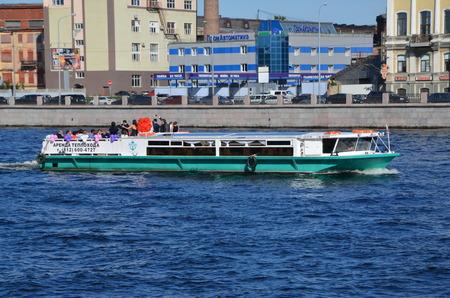 feast: Feast on pleasure boat, St. Petersburg