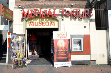 Medieval torture museum in Amsterdam, Holland