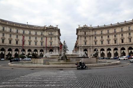 piazza: Piazza della Repubblica Rome Italy