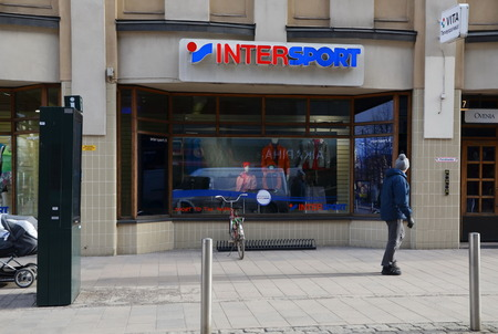 retailer: The Intersport Group is an international sporting goods retailer. The companys headquarters are located in Bern, the capital of Switzerland