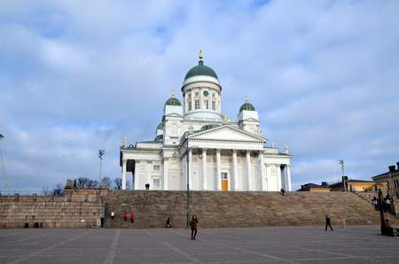 finnish: Helsinki Cathedral is the Finnish Evangelical Lutheran cathedral of the Diocese of Helsinki