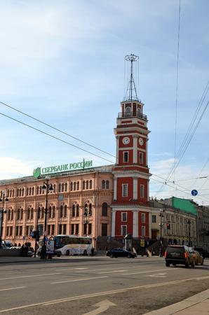 duma: Saint Petersburg City Duma. The city duma seen from Nevsky Prospekt Editorial