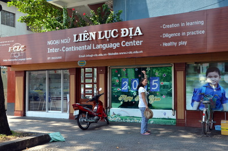 linguistic: Inter-continental language center in Ho Chi Minh City, Vietnam