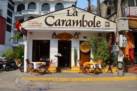 trang: Restaurant La Carambole in Nha Trang Vietnam Editorial