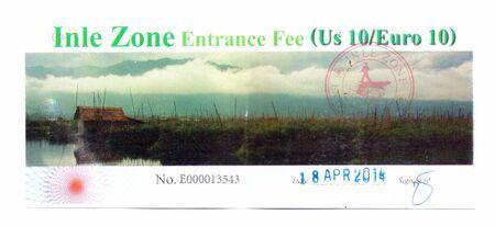 honorarios: Inle entrada de zona, Myanmar