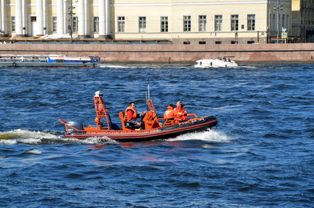 rescue service: Search and Rescue Service of Ministry of Emergency Situations on the Neva River, St. Petersburg