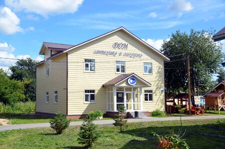electrics: Vologda settlement - an exhibition and sale of country houses. House of plumbing and electrics
