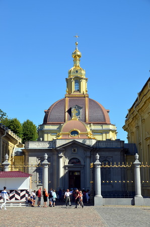 princely: Grand Ducal Burial Chapel in Peter and Paul Fortress, St. Petersburg