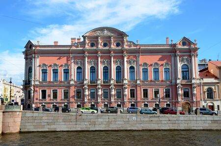 eclecticism: Beloselsky-Belozersky Palace, St. Petersburg, Russia