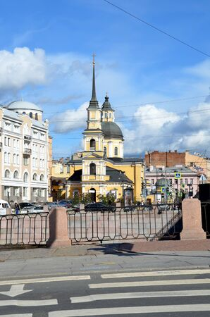 the righteous: Church of the Holy and Righteous Simeon and Anna the Prophetess. St. Petersburg