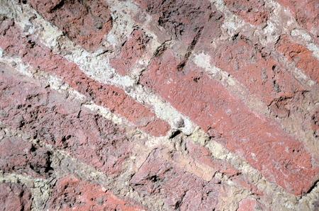 paredes de ladrillos: Viejo fondo del ladrillo Foto de archivo