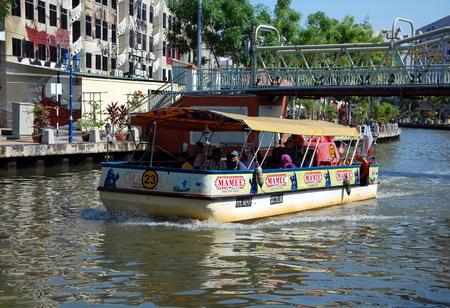 excursion: Excursion boat in Malacca, Malaysia.