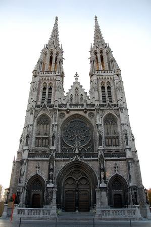 paulus: St Petrus and St Paulus Church in Ostend, Belgium Stock Photo