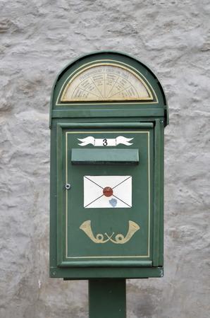 estonia: Stylish mailbox in Tallinn, Estonia
