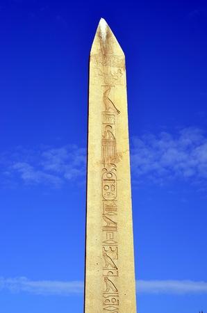 byzantium: Obelisk of Theodosius (Egyptian obelisk)  from Istanbul, Turkey
