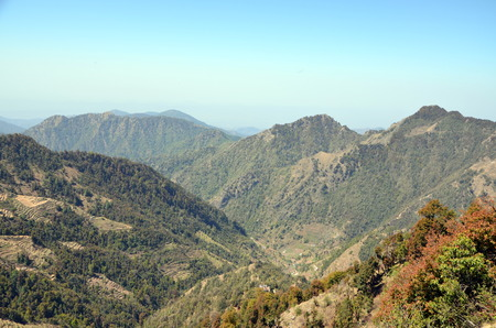 himachal pradesh: Himalayas landscape. Himachal Pradesh, India Stock Photo