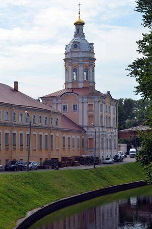 lavra: Alexander Nevsky Lavra in Saint-Petersburg, Russia