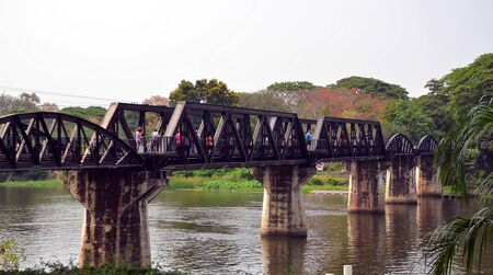 the firmament: The Bridge Over the River Kwai in Kanchanaburi, Thailand