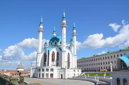 kazansky: Qol Sharif, Qol Sherif or Kol Sharif mosque in Kazan, the capital city of Tatarstan republic, Russia