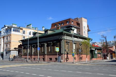 tatarstan: KAZAN, TATARSTAN, RUSSIA - MAY 13, 2017 - Mini hotel and restaurant in Kazan Editorial