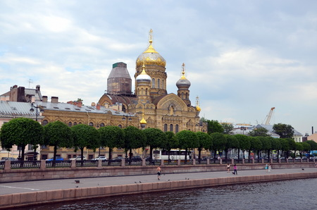Church of Assumption of Blessed Virgin Mary in St-Petersburg
