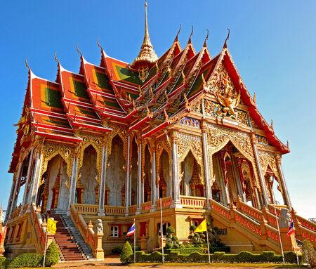 samutprakarn: Temple in Samutprakarn, Thailand