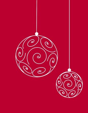 greeting christmas: Christmas balls