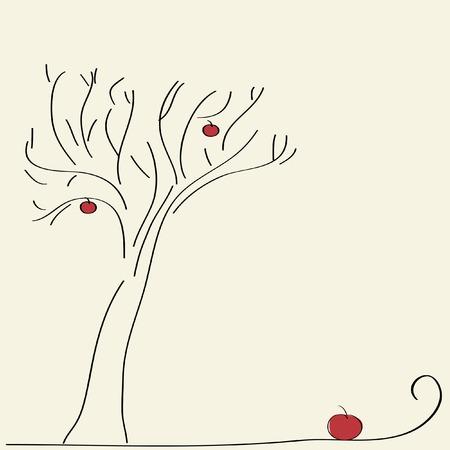 Apple árbol Foto de archivo - 3789015