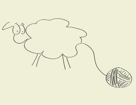 wool sheep: Got wool?