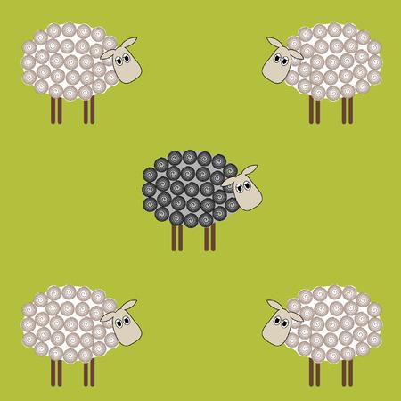black sheep: Black sheep