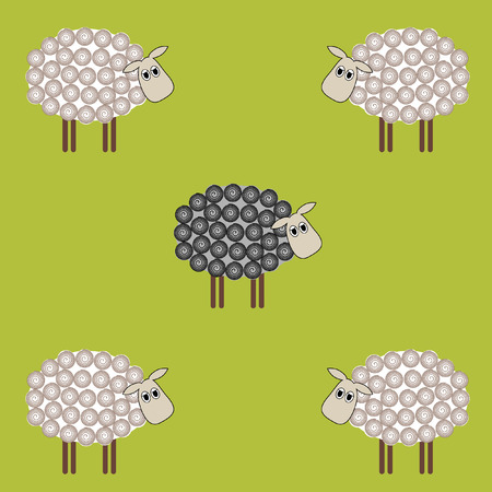 black: Black sheep