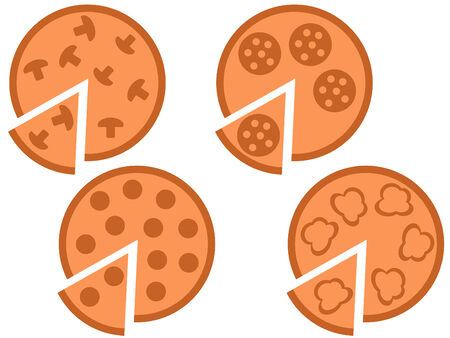 simple logo: Pizza