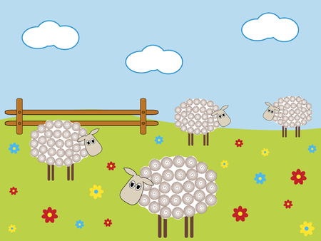 Sheep Stock Vector - 3834134