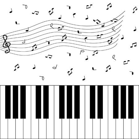 Piano Ilustração
