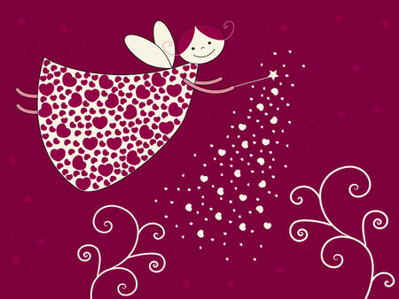 Love fairy Stock Vector - 3918217