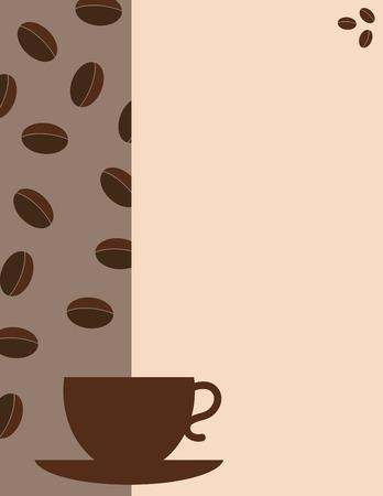Koffie huis menu omslag