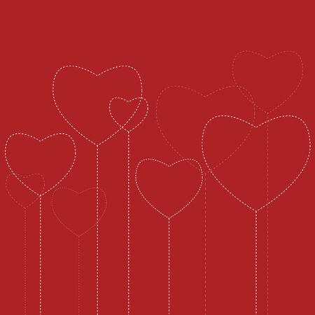 Hearts Stock Vector - 4007805