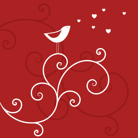 Love bird Vector