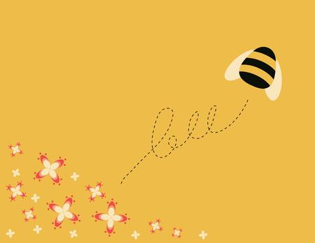 bee garden: Bee