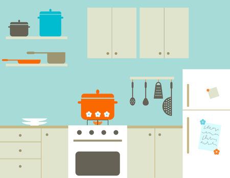 Küche  Standard-Bild - 4089510