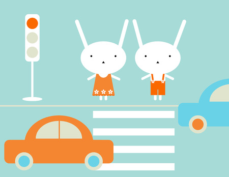 Traffic rules Vector