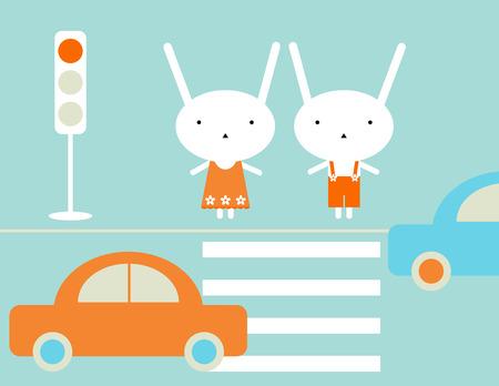 crossing: Traffic rules