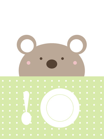 plate: Lunch time