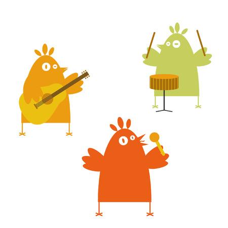 Birds band Vector