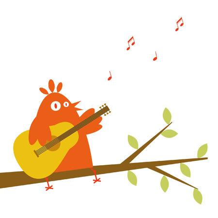 Serenade Vector Illustration