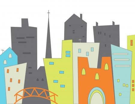 City Иллюстрация