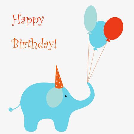 Happy birthday Stock Illustratie