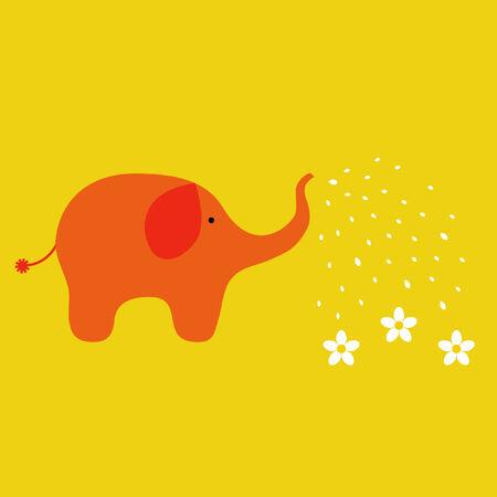 Elephant Stock Illustratie