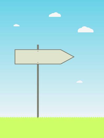 Arrow sign Vector